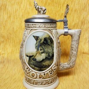 Avon Fine Collectable Lidded Beer Stein